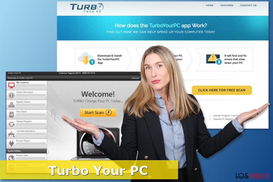 Pantallazo de Turbo Your Pc