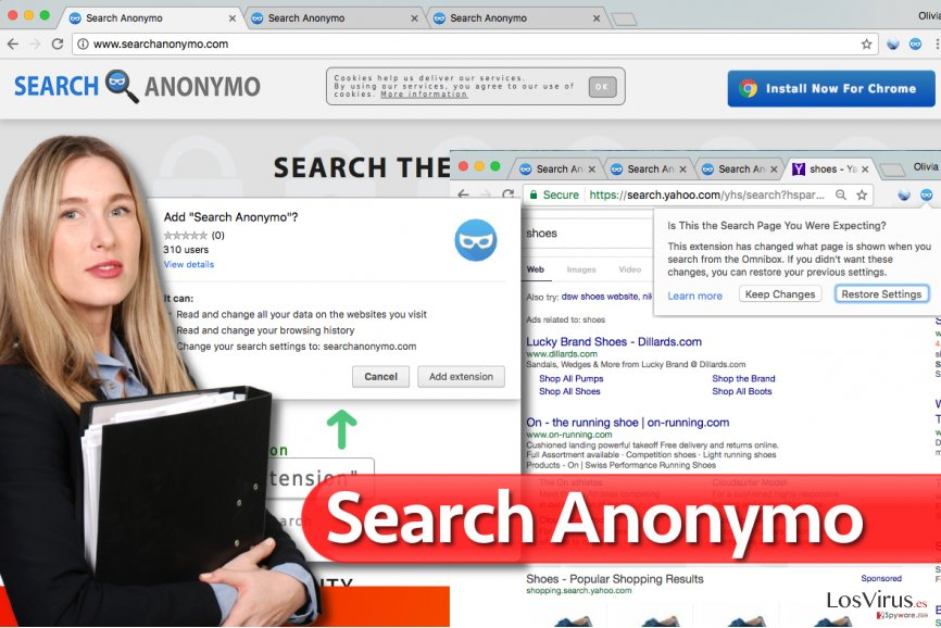 Virus Search Anonymo