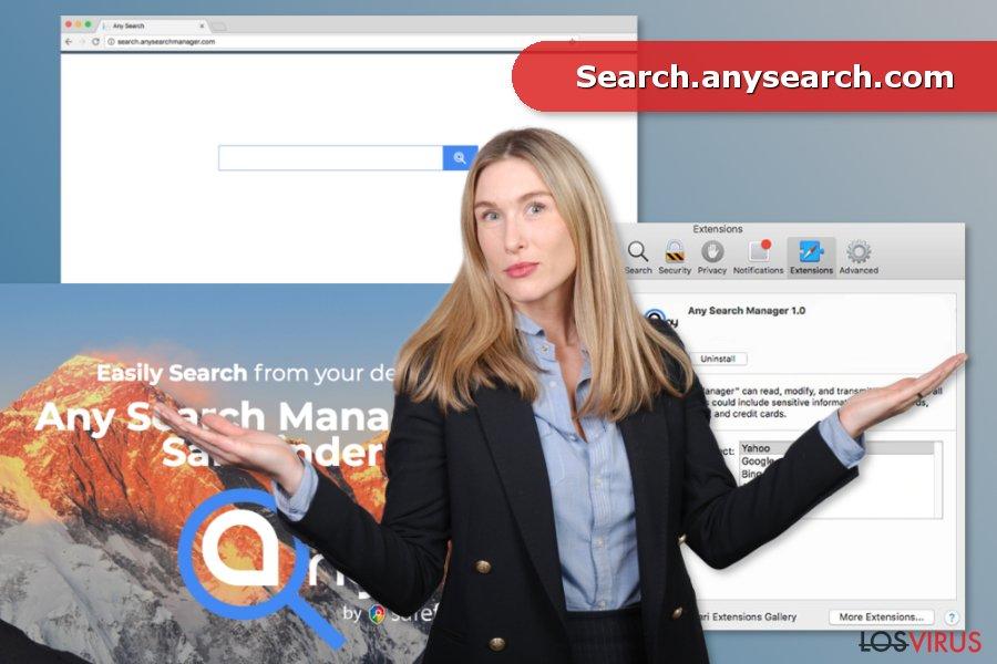 Imagen del virus Search.anysearch.com