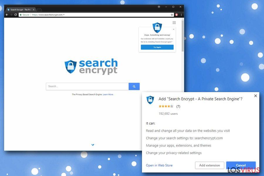 Search Encrypt foto