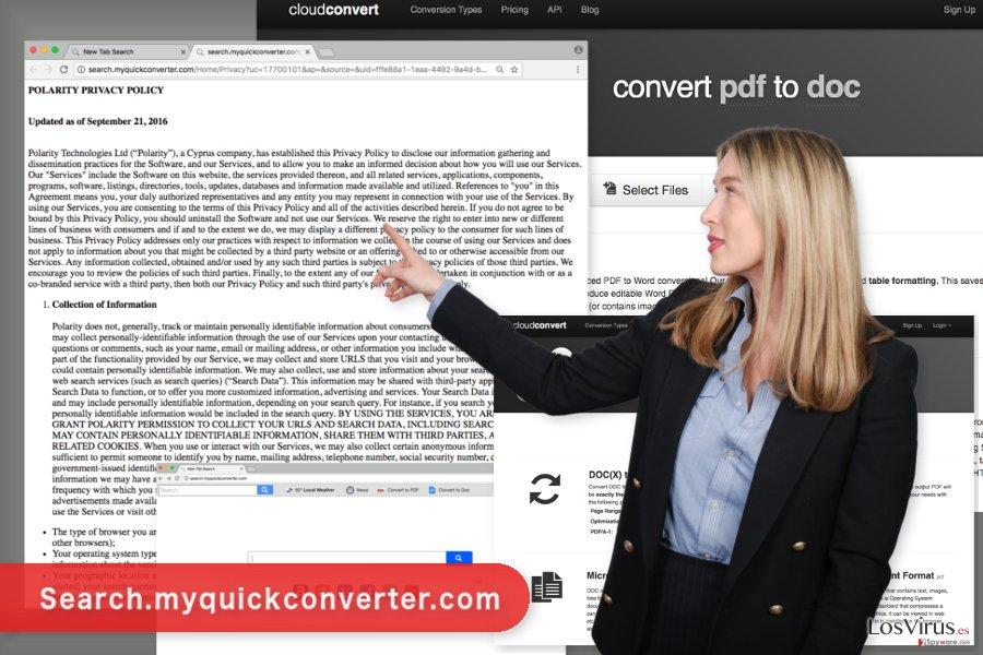La imagen del virus Search.myquickconverter.com