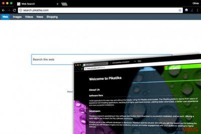 El spyware Search.pikatika.com