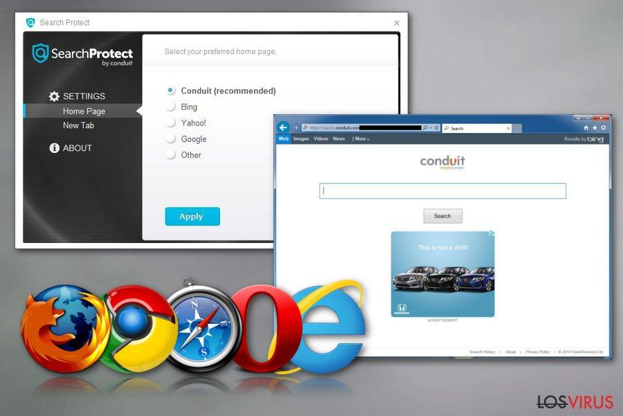 Search Protect foto