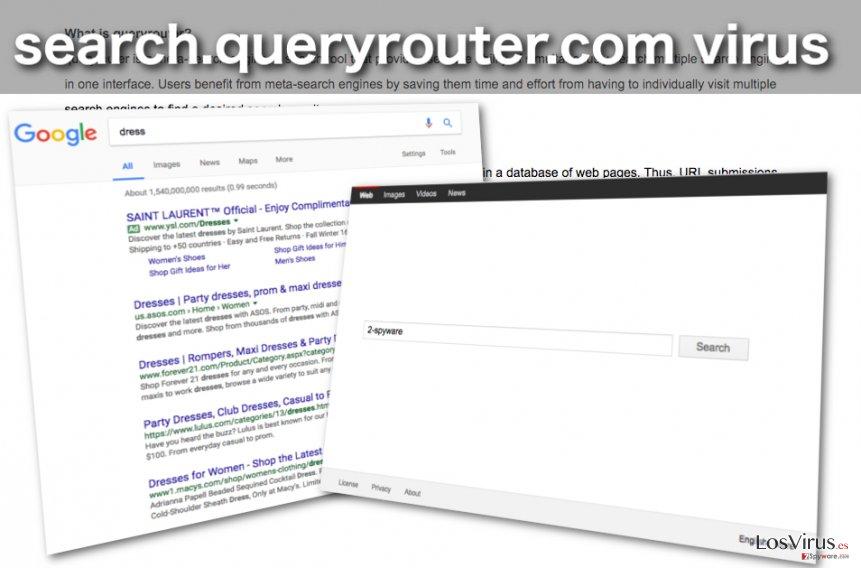 Imagen del hacker de navegador Search.queryrouter.com