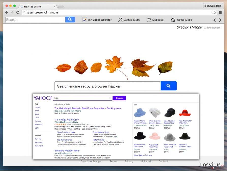 Search.searchdirma.com redirect virus