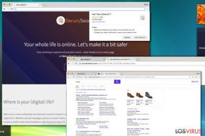 Virus de redirección Search.securysearch.com