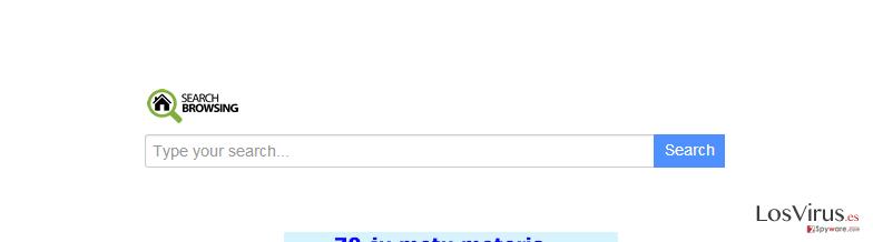 searchbrowsing.com redirect