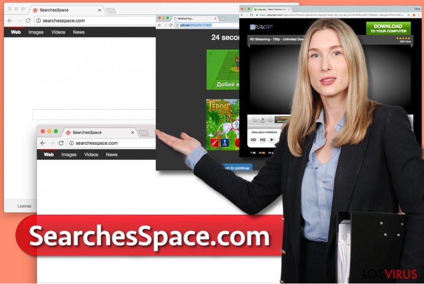Virus SearchesSpace.com