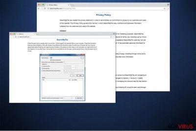 El virus SearchMyFile es conocido por causar varios anuncios