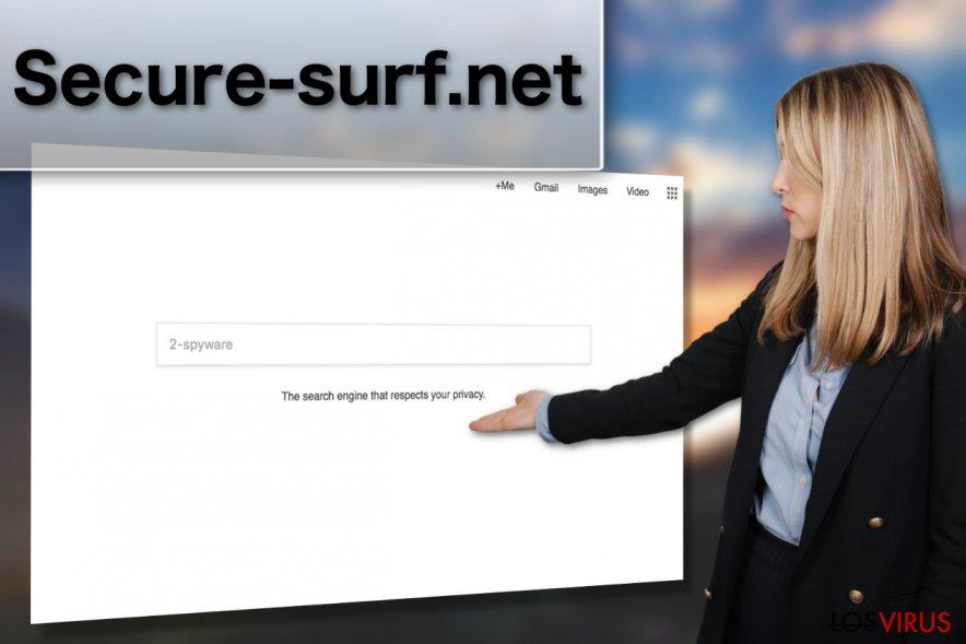 Una imagen del virus Secure-surf.net