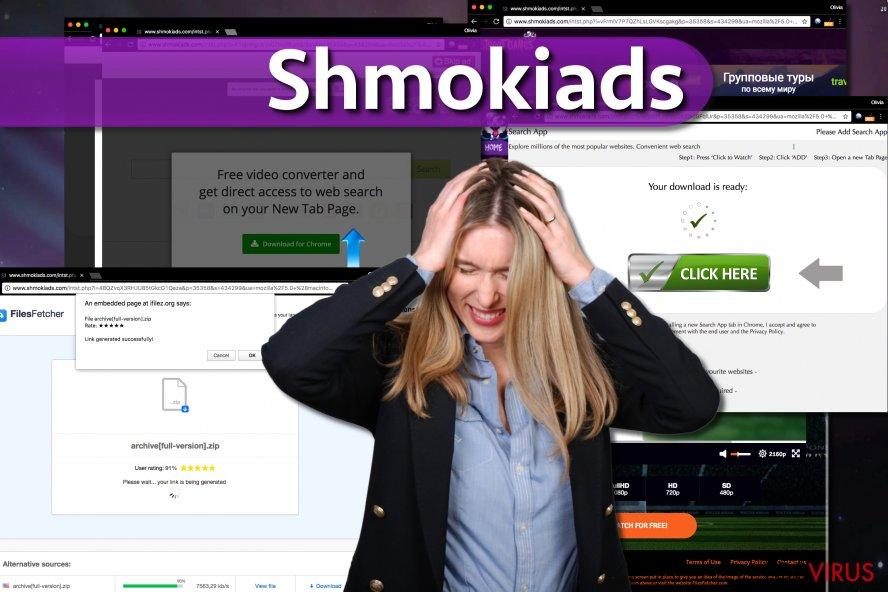 El malware Shmokiads