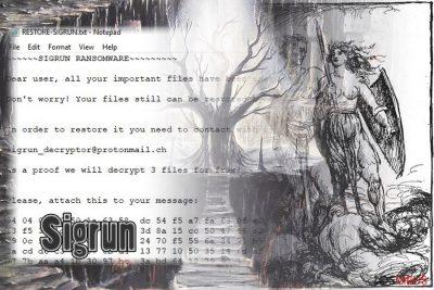Ransomware Sigrun