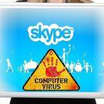 Skype virus foto