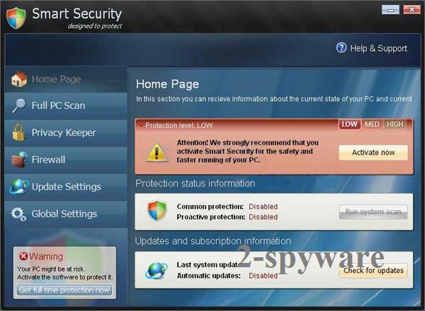 El virus Smart Security foto