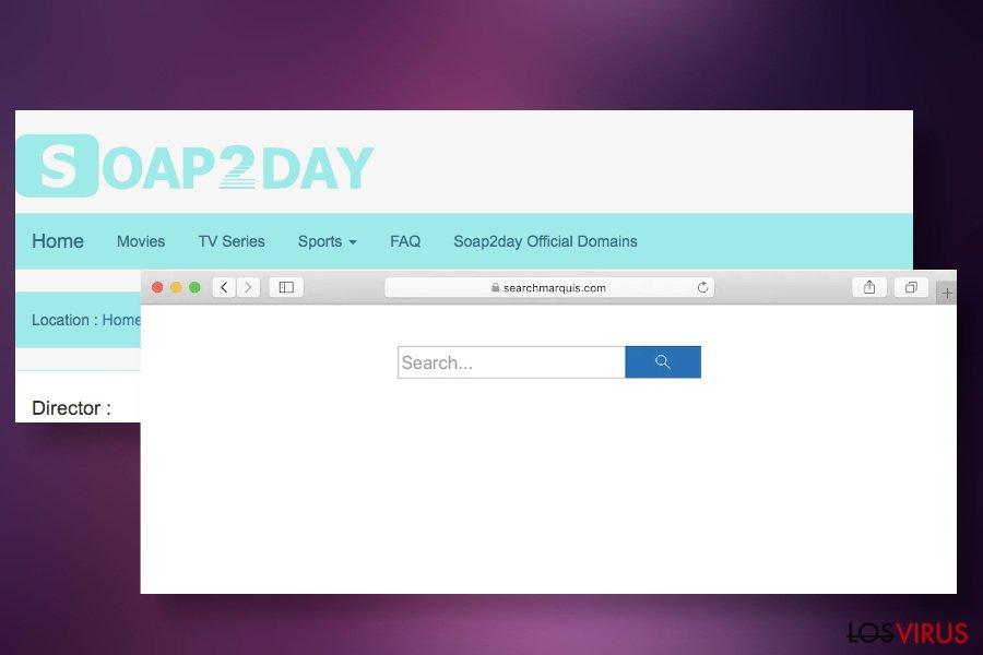 Soap2Day puede difundir hackers de navegador