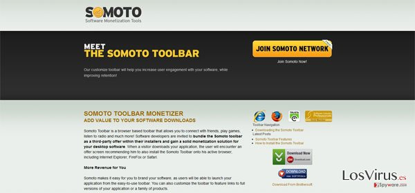 Somoto Toolbar foto