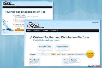 Página de descarga de Spigot Toolbar