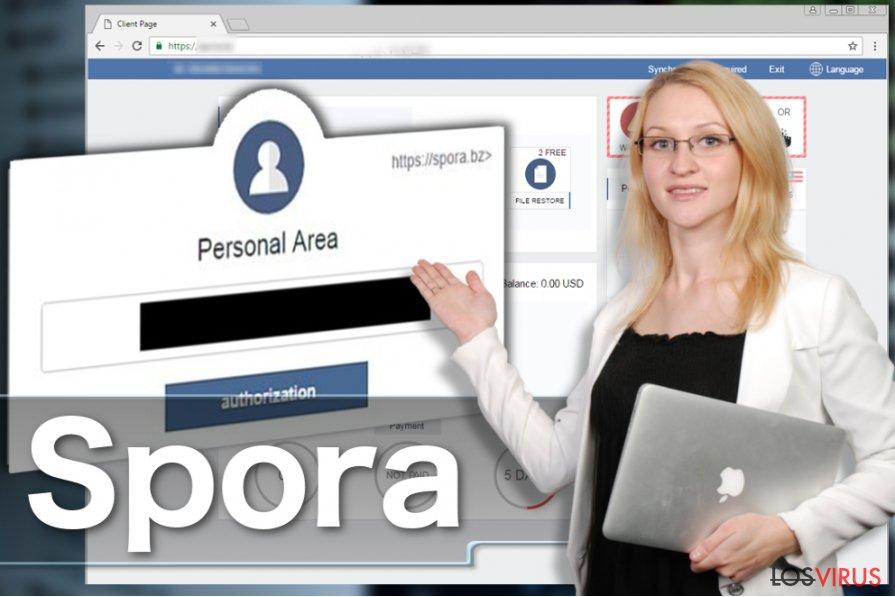 El virus ransomware Spora foto