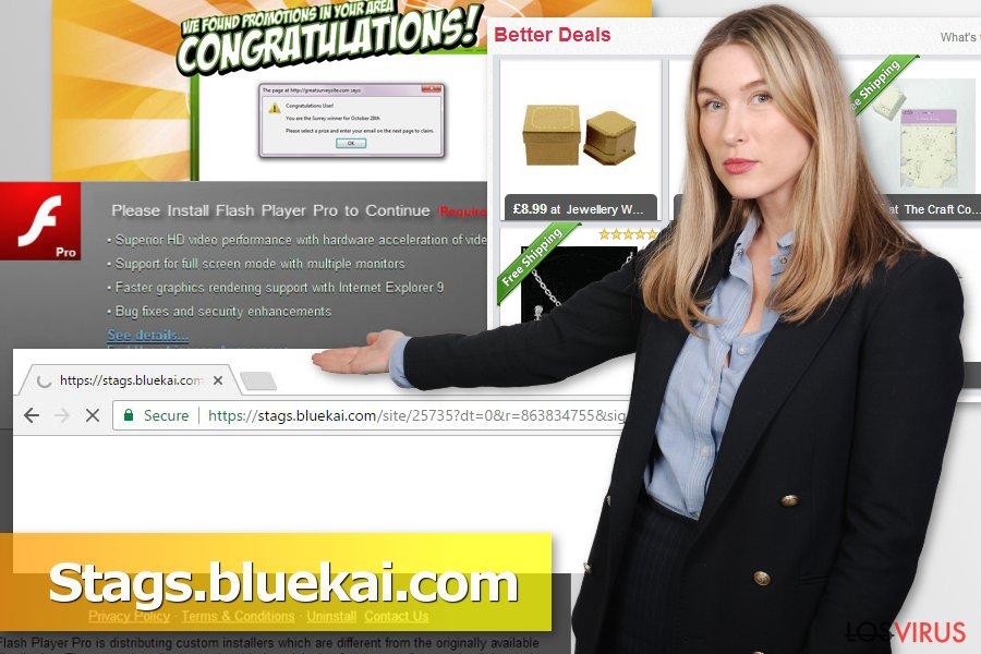 Imagen del virus Stags.bluekai.com