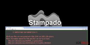 El virus ransomware Stampado