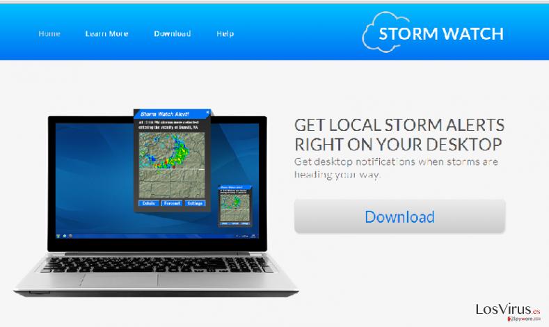 Los anuncios de StormWatch foto