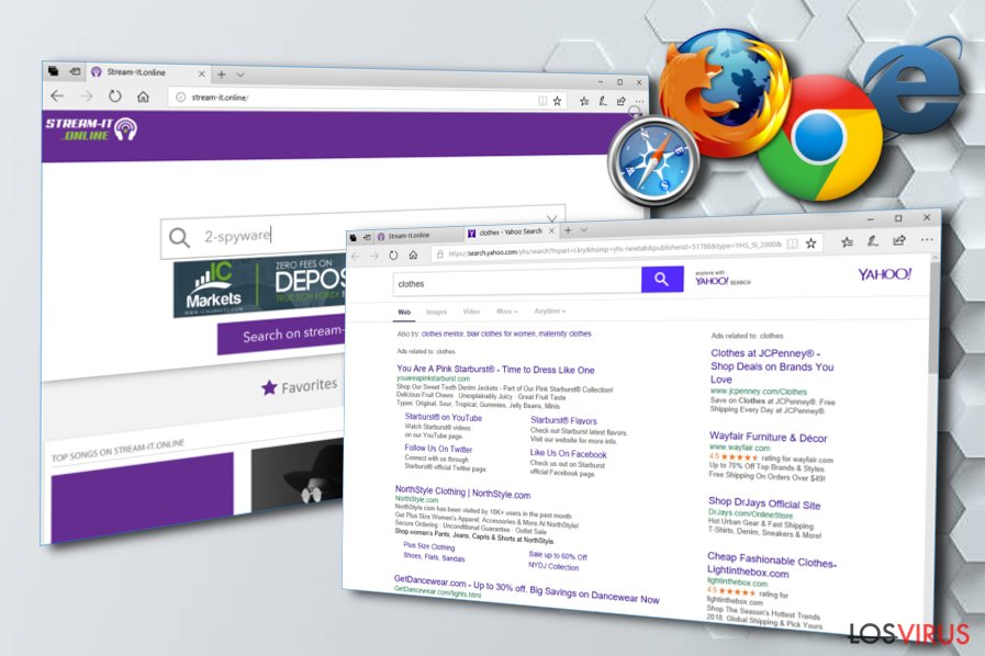 Hacker de navegador Streamit-online.com