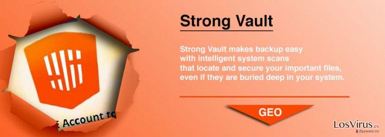 StrongVault Online Backup foto