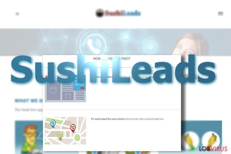 Los anuncios de SushiLeads foto