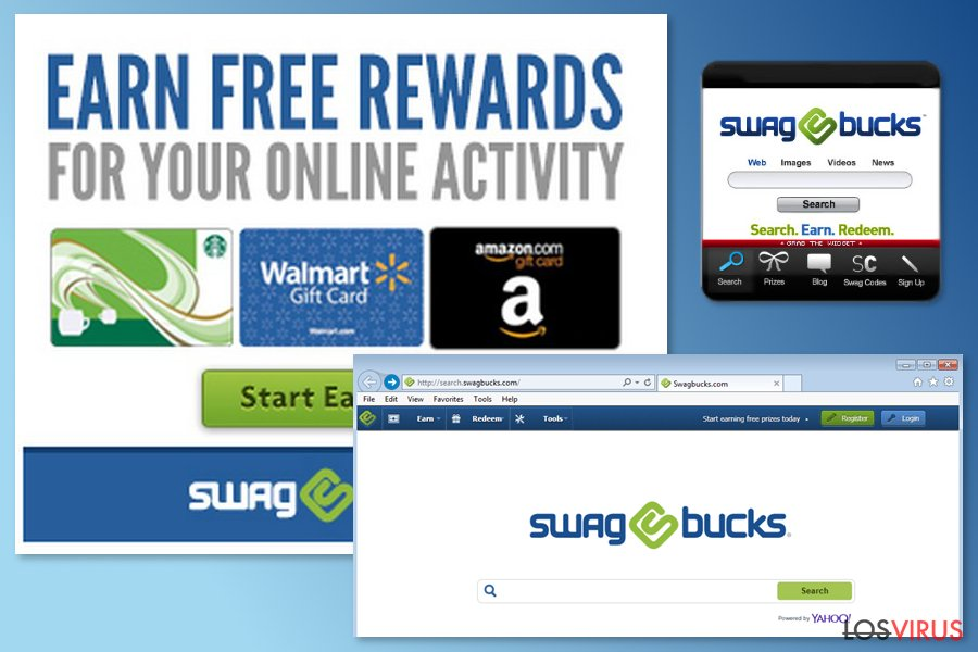 The example of Swagbucks virus