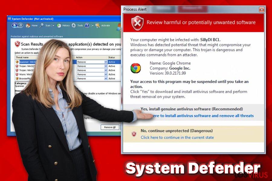Virus System Defender