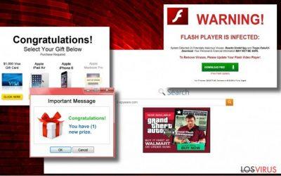 Ejemplo de los anuncios de Tags.bluekai.com