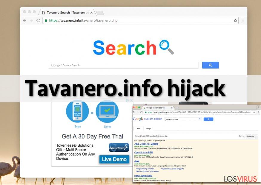 El virus Tavanero.info