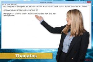 Ransomware Thanatos