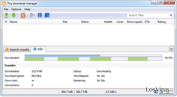 Tiny download manager foto