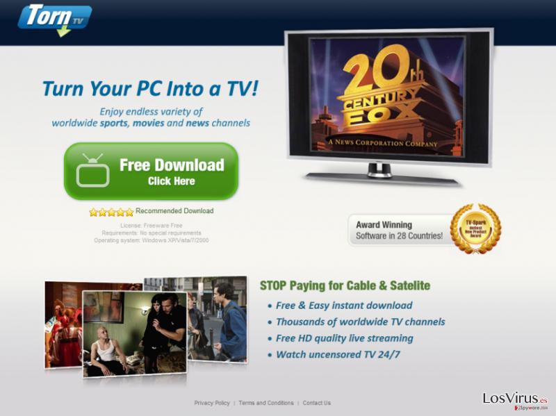El malware TornTV foto