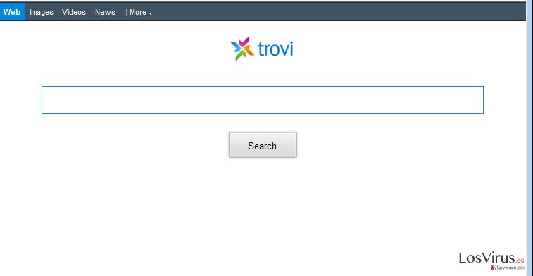 Las redirecciones de Trovi.com foto