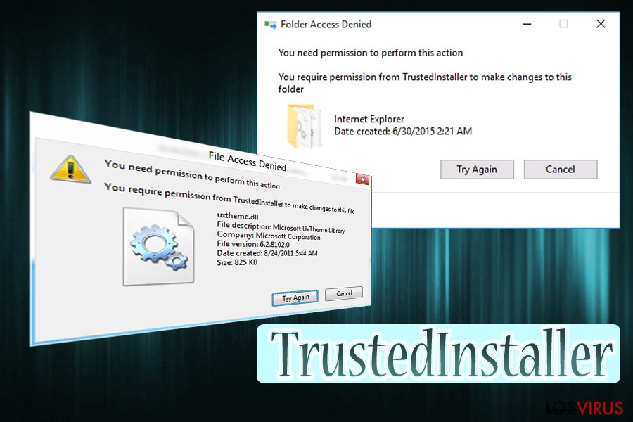 Virus TrustedInstaller