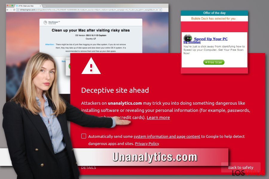 Adware Unanalytics.com