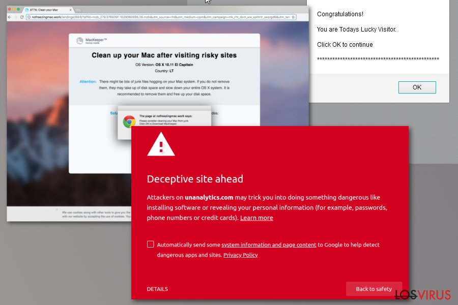 Virus Unanalytics.com
