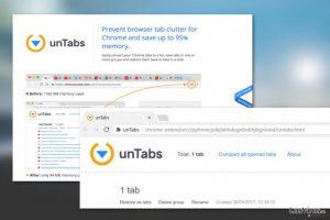 Virus extensión unTabs