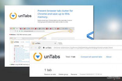 Virus unTabs