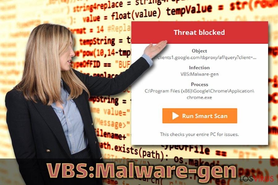 Troyano VBS:Malware-gen
