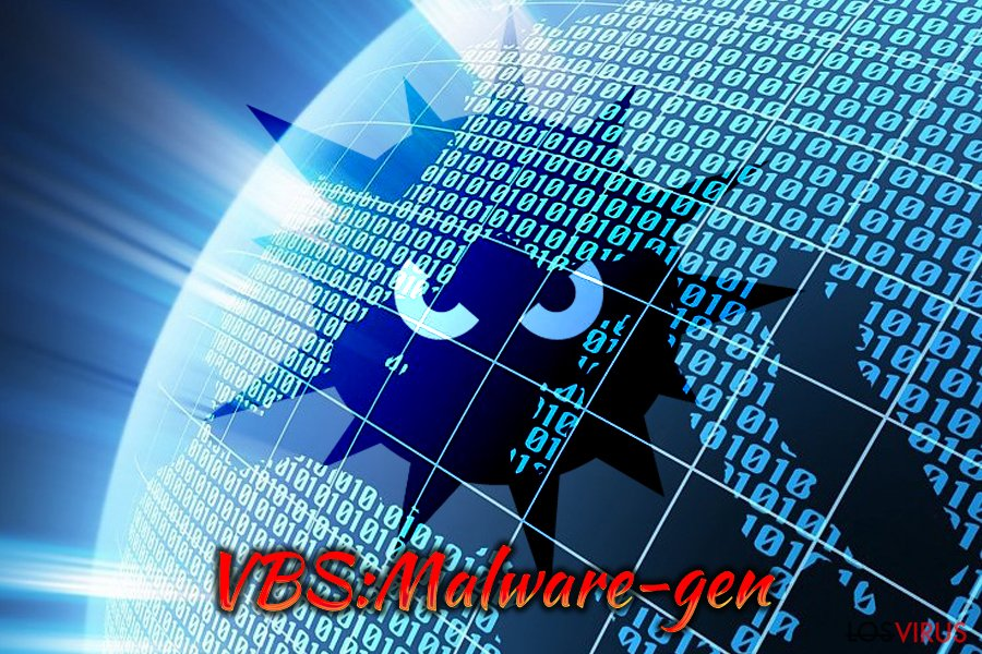 Virus VBS:Malware-gen