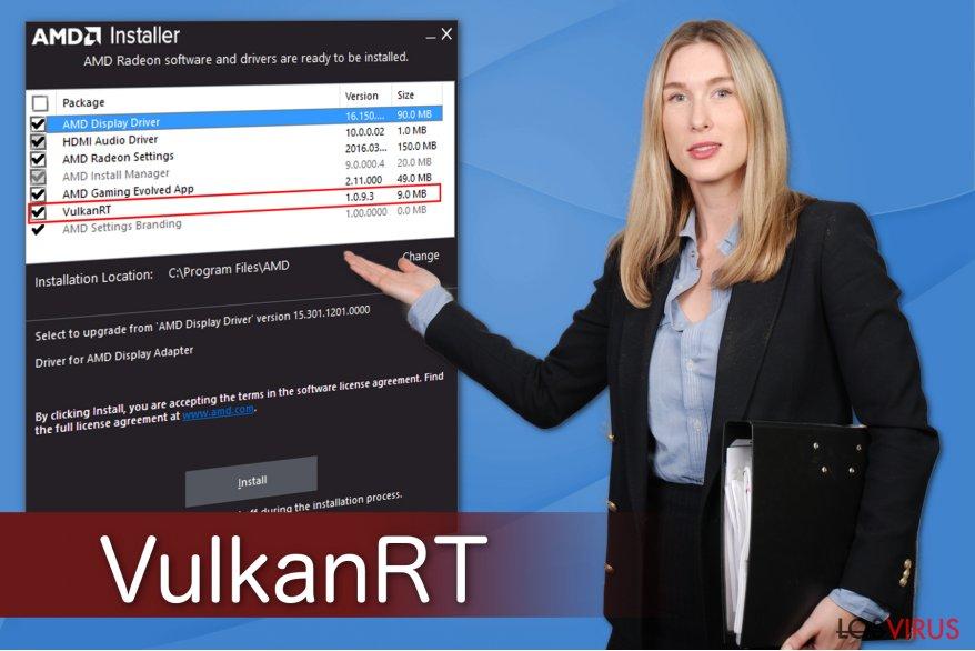 Ilustración de VulkanRT