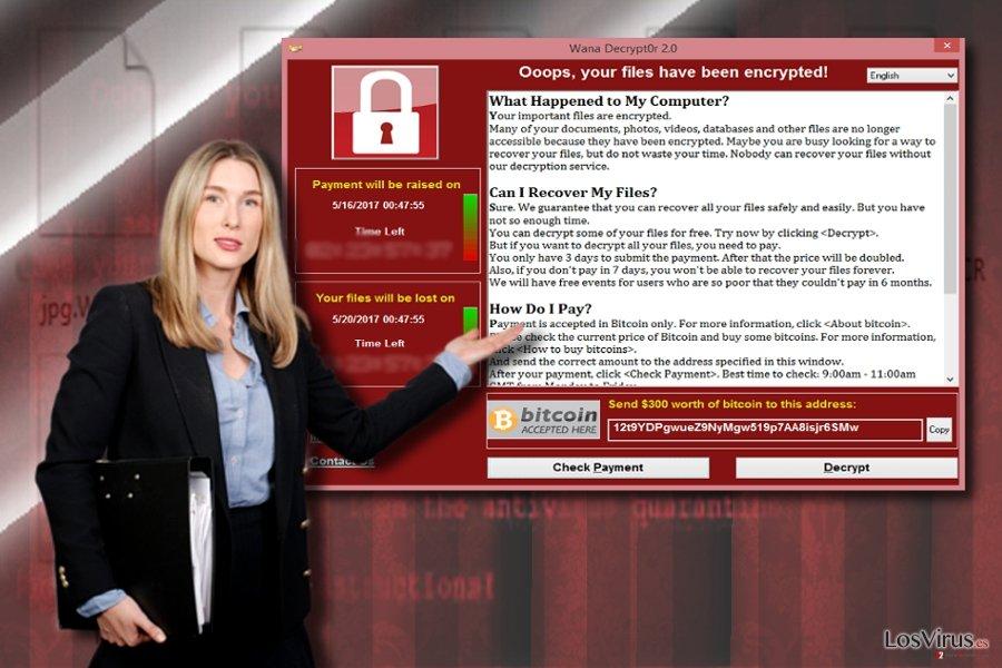 Notas de pago de WannaCry 3.0 y WannaCry