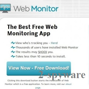 Web Monitor foto