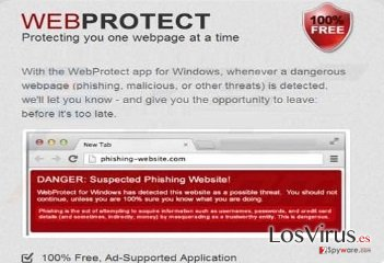 El virus Web Protect foto