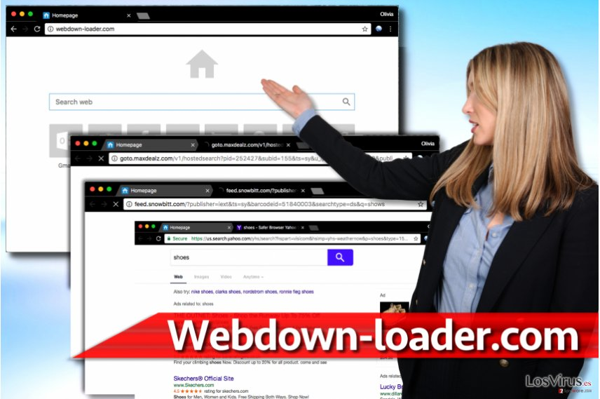 Redirecciones de Webdown-loader.com