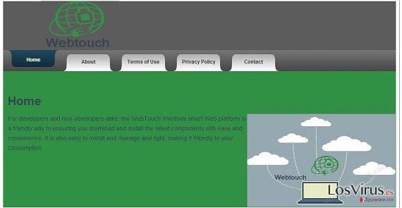 El virus Webtouch foto