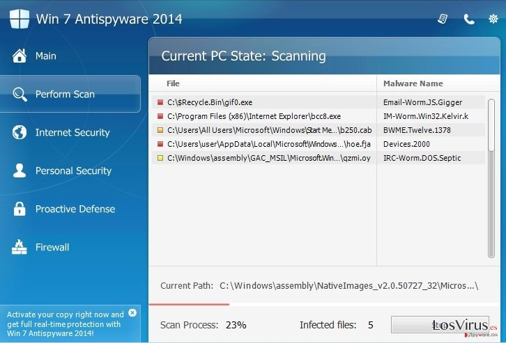 Win 7 Antispyware 2014 foto
